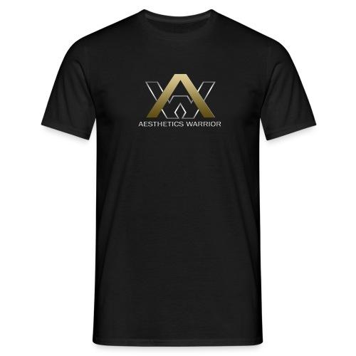 Aesthetics Warrior - T-Shirt - Black - Men's T-Shirt