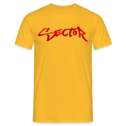 Sector Mens T-Shirt (Yellow) - Men's T-Shirt