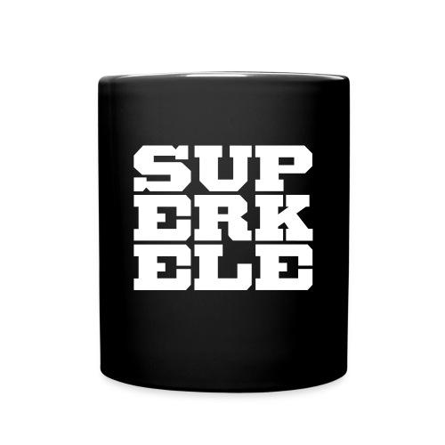 SUPERKELE - Yksivärinen muki