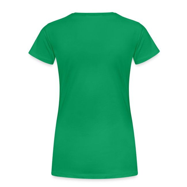 T-shirt dame - Logo glimmerhvid