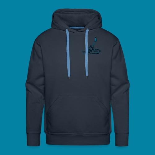 sweet powerkite - Sweat-shirt à capuche Premium pour hommes