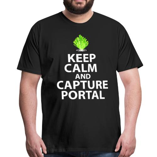 Keep Calm Portal - T-shirt Premium Homme