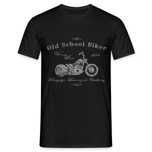 Biker Shirt | Old School - 1960 - Männer T-Shirt