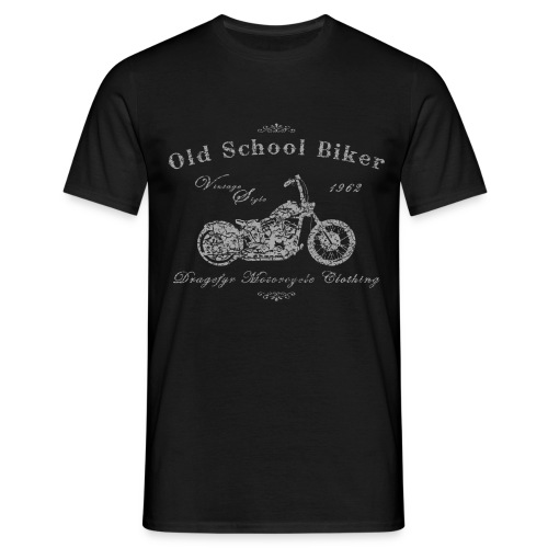 Biker Shirt | Old School - 1962 - Männer T-Shirt