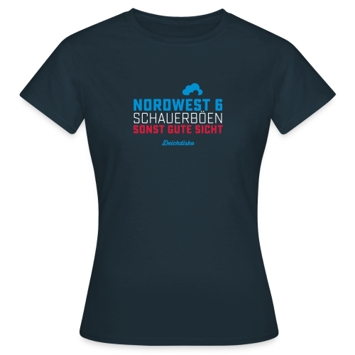 Deichdisko T-Shirt Nordwest 6 - Frauen T-Shirt