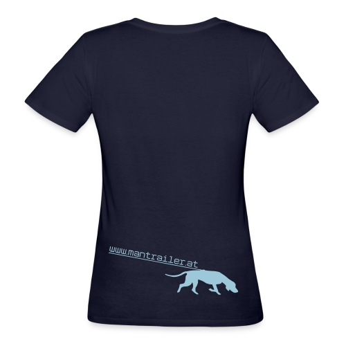 mantrailer.at V1 Shirt kurzarm Frauen_einseitig Digitaldruck - Frauen Bio-T-Shirt