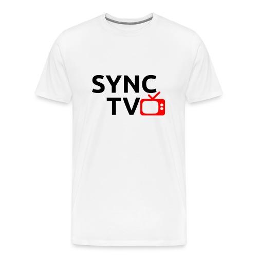 Sync watermark icon shirt - Men's Premium T-Shirt