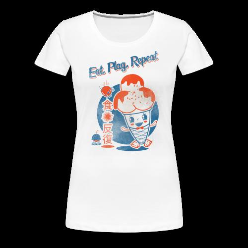 Eat, Plag, Repeat - Women's Premium T-Shirt