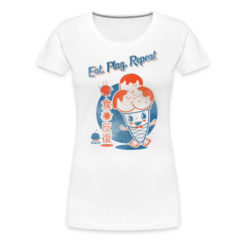 Eat, Plag, Repeat - Women's Premium T-Shirt
