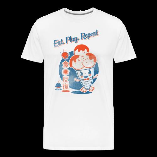 Eat, Plag, Repeat - Men's Premium T-Shirt