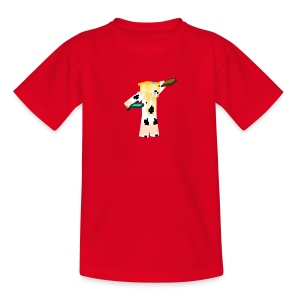 Red MissCowQueen T-Shirt - Kids' T-Shirt