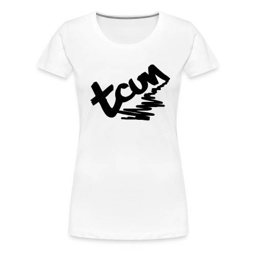 tcun logo - TeeShirt Frauen - Frauen Premium T-Shirt