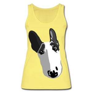 Adorable English Bull Terrier Graphic Women's Organic Tank Top - Women's Organic Tank Top