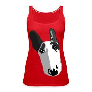 Adorable English Bull Terrier Graphic  - Women's Premium Tank Top