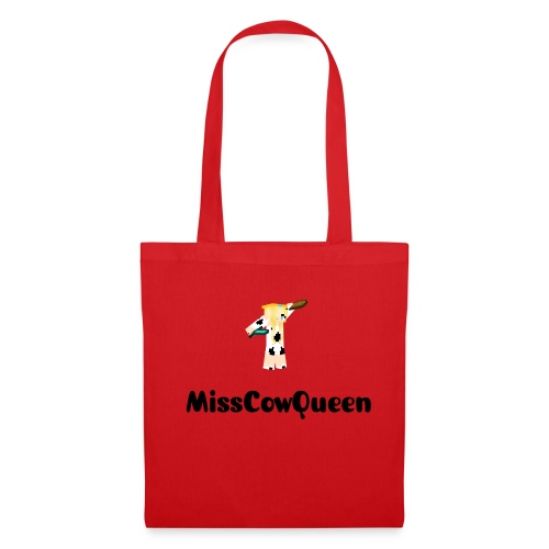 Red MissCowQueen Carrier Bag - Tote Bag