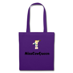 Purple MissCowQueen Carrier Bag - Tote Bag
