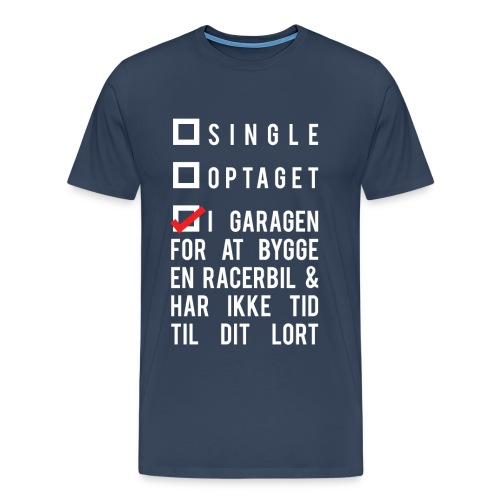 i garagen - Herre premium T-shirt
