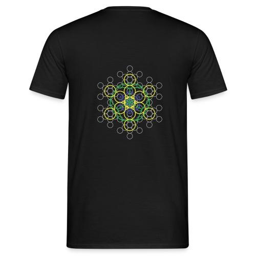 T-Shirt Homme / Fleur de Vie 001 [Platon 001] - T-shirt Homme