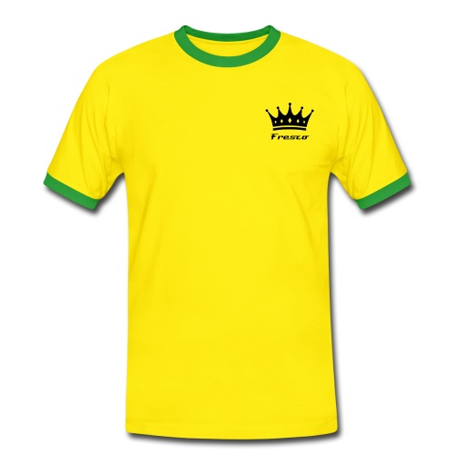 Fresco Yellow/Green Mens - Men's Ringer Shirt