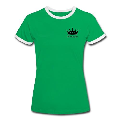 Fresco Green/White Womens - Women's Ringer T-Shirt