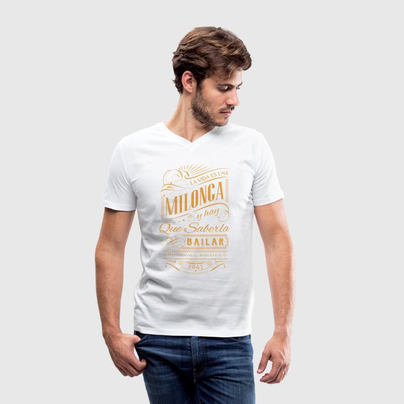 La Vida Es Una Milonga - Men's V-Neck T-Shirt