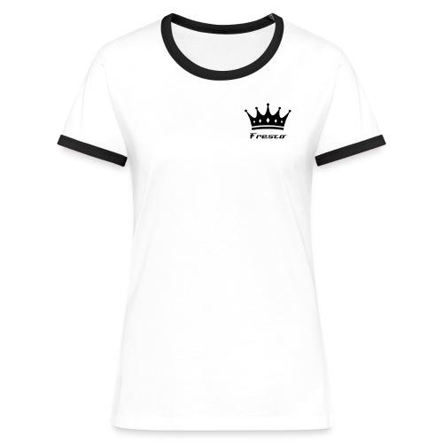 Fresco White/Black Womens - Women's Ringer T-Shirt