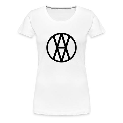 AV Black Logo F - Women's Premium T-Shirt