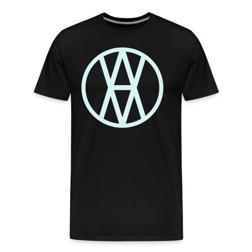 AV Reflective Silver Premium T-shirt - Men's Premium T-Shirt