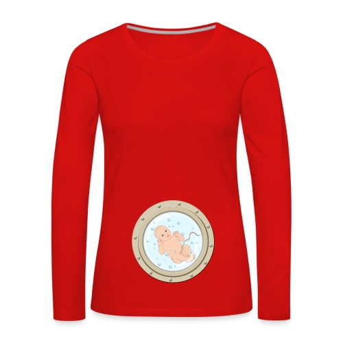 baby on board - T-shirt manches longues Premium Femme