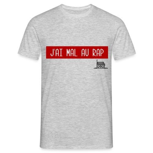 T-Shirt Gris - J'ai Mal au Rap - T-shirt Homme