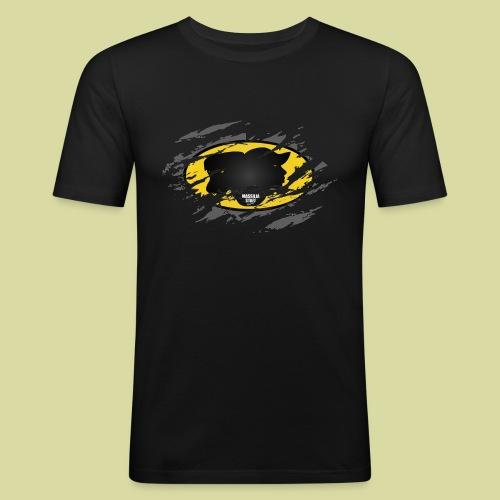 BatStaff Homme - T-shirt près du corps Homme
