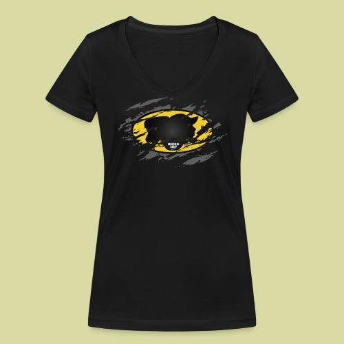 BatStaff Femme - T-shirt bio col V Stanley & Stella Femme