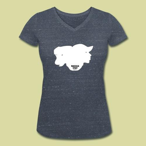 Classik Col V - T-shirt bio col V Stanley & Stella Femme