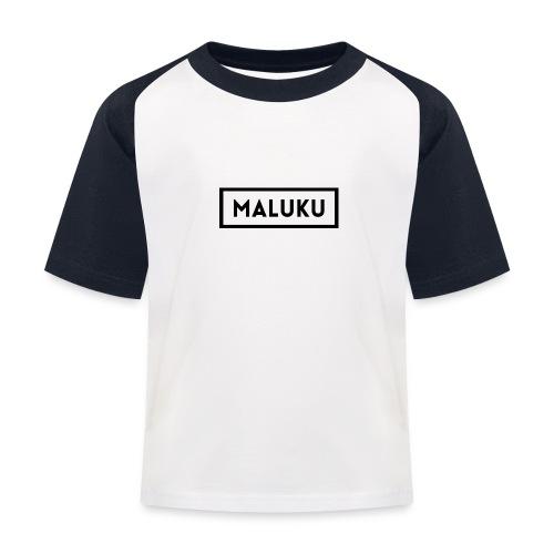 Maluku Box logo Kids shirt - Kinderen baseball T-shirt