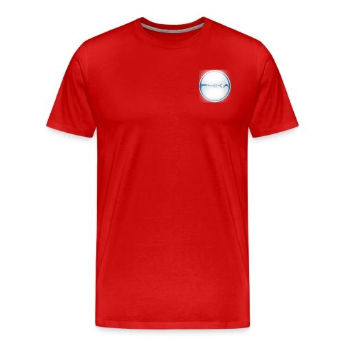 Oficialn t-shirt - logo p4ka - Koszulka męska Premium