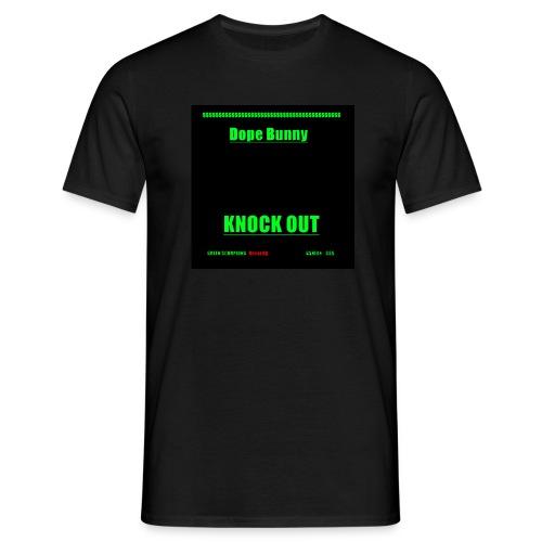 ''Dope Bunny Knock Out'' T-Shirt Schwartz - Männer T-Shirt