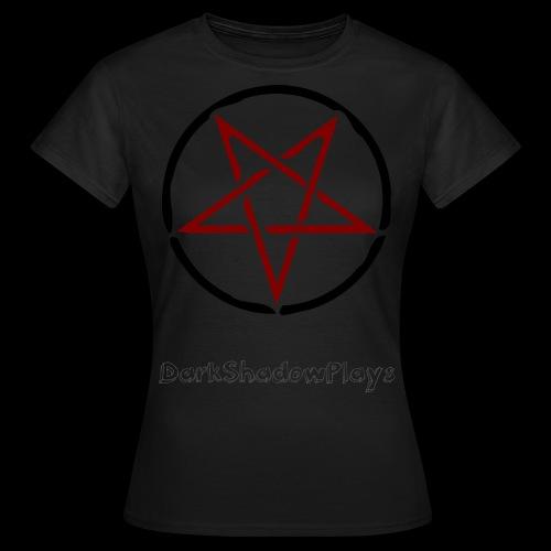 Pentagramm Frauenshirt - Frauen T-Shirt