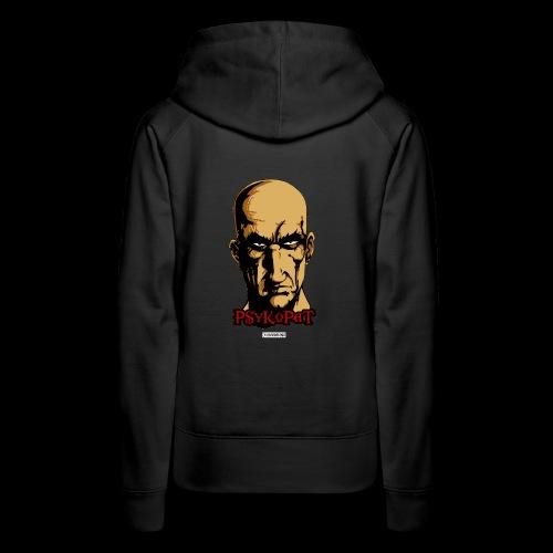 Psykopat sweet shirt à capuche - Sweat-shirt à capuche Premium pour femmes