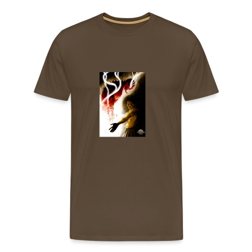Sorcier - Marron - T-shirt Premium Homme