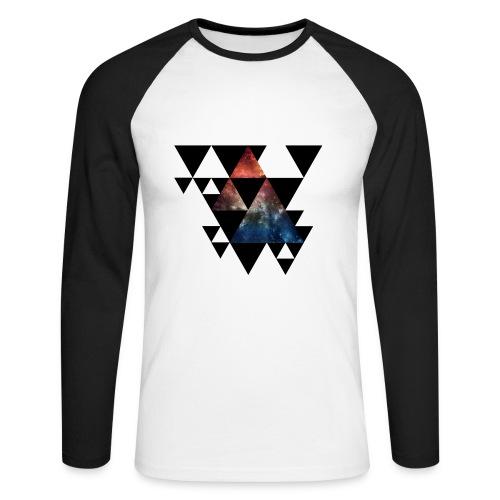 Galaxy_ T-shirt - Männer Baseballshirt langarm