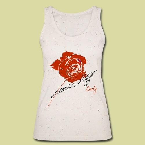 Rose Rouge Débardeur - Débardeur bio Femme