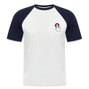 Männer T-Shirt - Männer Baseball-T-Shirt