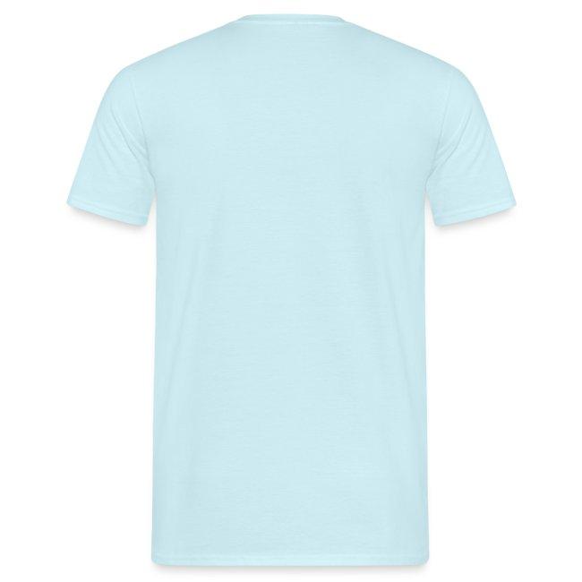 I can't surf mannen t-shirt