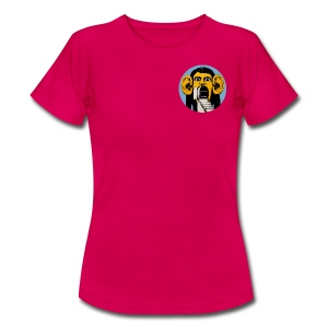 Balve Button For Chicks - Women's T-Shirt