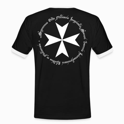 Tshirt Bicolore Homme Ordre de Jerusalem, Rhodes et Malte - T-shirt contrasté Homme