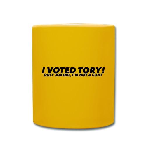I VOTED Tory - Full Colour Mug