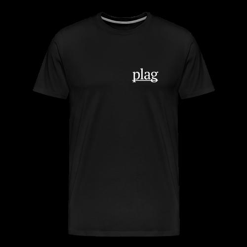 Plag Small Logo - Men's Premium T-Shirt