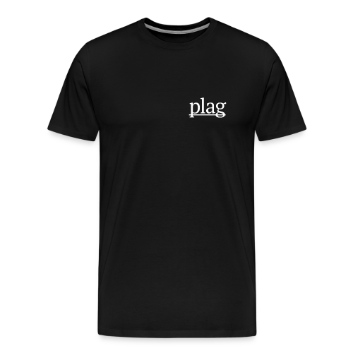 Plag Small Logo - Men's Premium T-Shirt