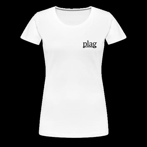 Plag Small Logo - Women's Premium T-Shirt