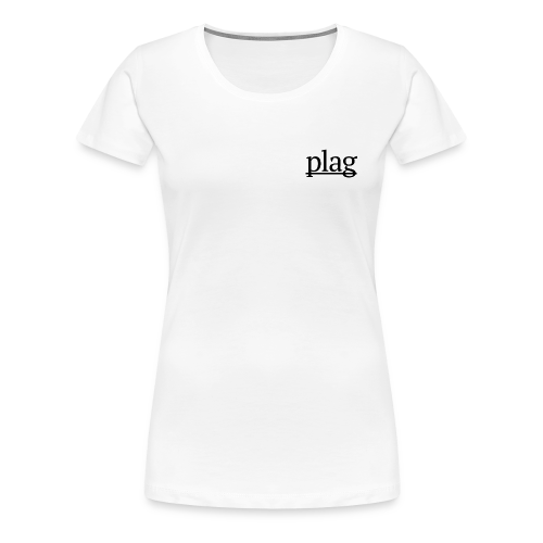 Plag Small Logo - Women's Premium T-Shirt